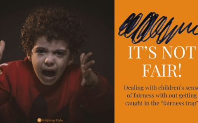 It's not fair! dealing with children's sense of fairness